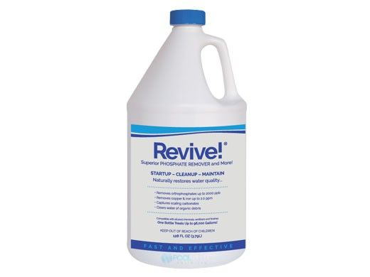 APi Revive! START UP / CLEAN UP Phosphate Remover | 1 Gal | REV1G