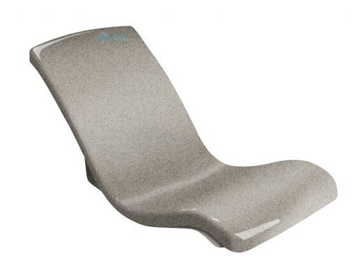SR Smith Destination Series In-Pool Rocking Lounge Chair | Fashion Gray | DS-2-56