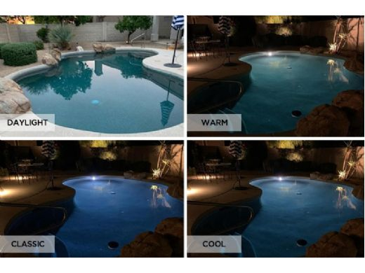S.R.Smith Mod-Lite MultiWhite LED Underwater Pool Light Replacement Lamp | 8-Watt | MLED-LM-MW