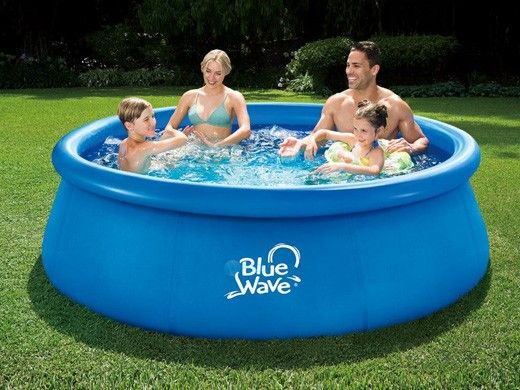 """Blue Wave Speed Set Family Swimming Pool Package 