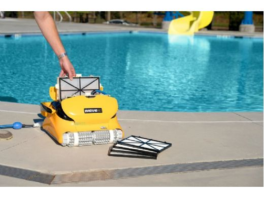 Maytronics Dolphin Wave 80 Inground Commercial Robotic Pool Cleaner   99991080-US