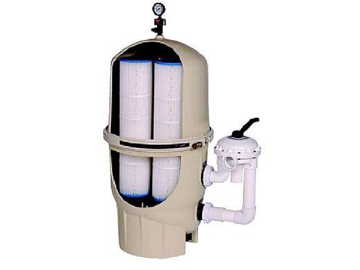 Pentair Quad DE High Flow Filter | 80 Sq Ft | 160 GPM | 188593