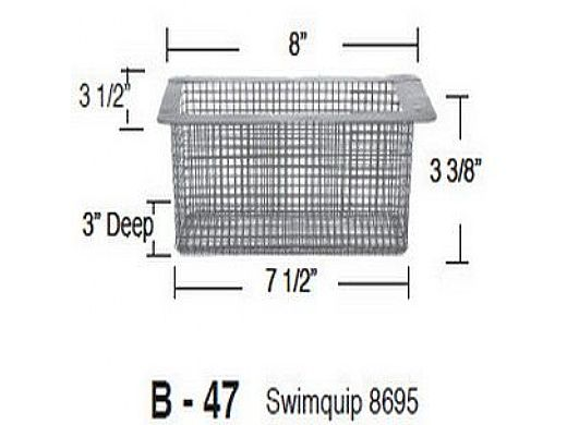 Aladdin Basket for Swimquip 8695   B-47