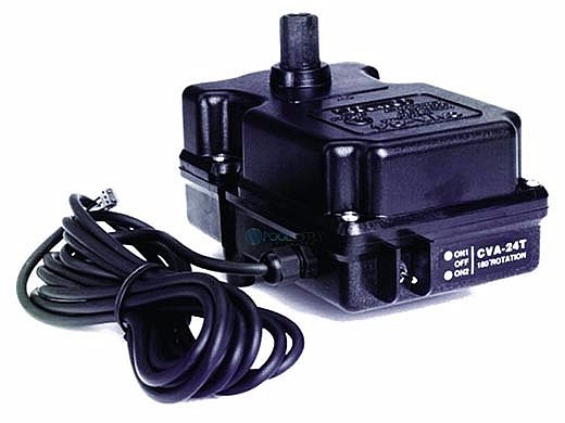 Pentair Compool 24V Valve Actuator 180 Degree Rotation for 3-Port Valves   UL Listed   CVA24T 263045
