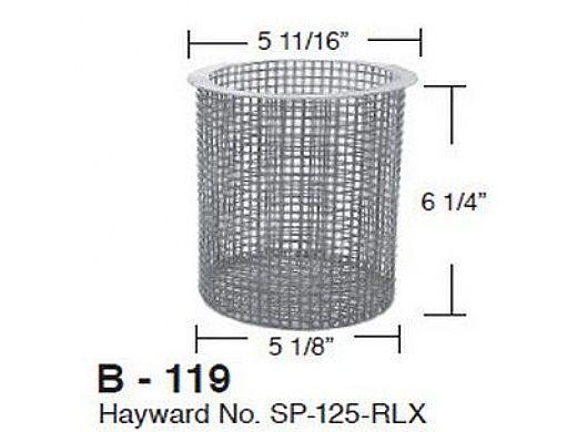 Aladdin Basket for Hayward No. SP-125-RLX | B-119
