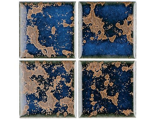 National Pool Tile Discovery Field 3x3 Series   Terra Blue   DSF10N