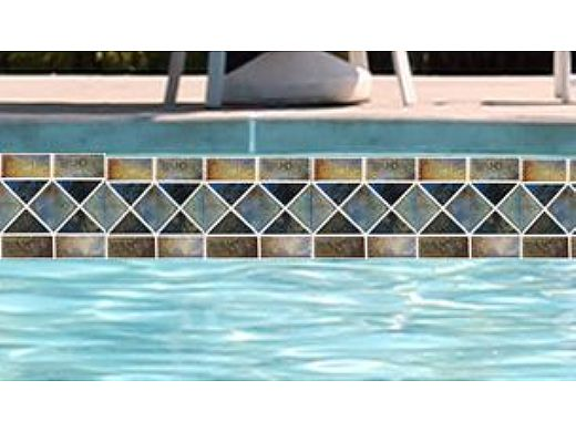 National Pool Tile Martinique Series | Ocean Blue | MAR33
