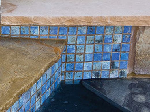 National Pool Tile Martinique 2x2 Series | Ocean Blue | MARF233