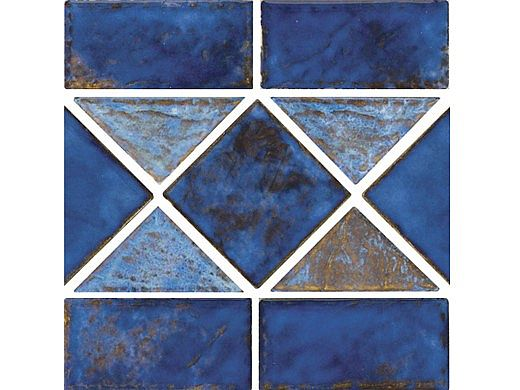 National Pool Tile Martinique Series | Royal Blue | MAR35