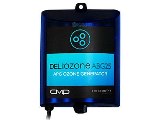 DEL OZONE ABG 25 Ozone Generator for Above Ground Pools | 25,000 Gallons | 110V/240V | EC-AG1U-01