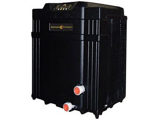 aquacal heatwave superquiet heat pump 100k btu titanium heat  aquacal heatwave superquiet heat pump 100k btu titanium heat exchanger digital display r410a sq110ahdsbtk