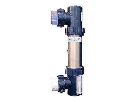 """Delta Ultraviolet EA Spa Series Ultraviolet Sanitizer/Clarifier System   Stainless Steel   120V/240V   2"""" 31GPM   EA-4H-10 35-08452"""