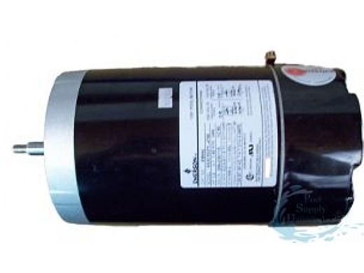 Replacement Threaded Shaft Pool Motor 1HP | 115/208/230V 56 Round Frame | Full-Rated Energy Efficient B654 | EB654