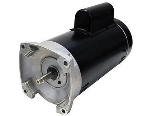 Replacement Square Flange Pool Motor .5HP | 115/208/230V 56 Frame Full-Rated Energy Efficient B845 | EB845 | ASB845