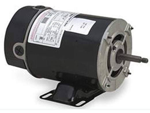 Replacement Threaded Shaft Thru-Bolt Pool Motor 2HP | 230V 48 Frame Two Speed BN51 | SPH20FL2CS