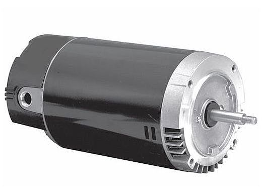 Replacement Threaded Shaft Pool Motor 1HP | 115/230V 56 Round Frame Up-Rated UST1102 | EUST1102
