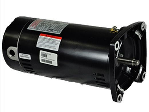Replacement Square Flange Pool Motor .5HP | 115/230V 48 Frame Full-Rated SQ1052 | ESQ1052