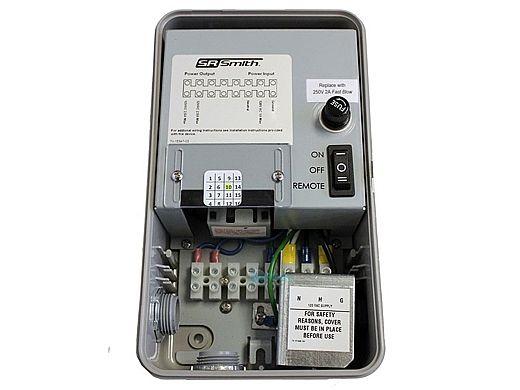 SR Smith Wireless Light Control System With Internal 12VAC Transformer & 1 Button Remote | WIRTRAN