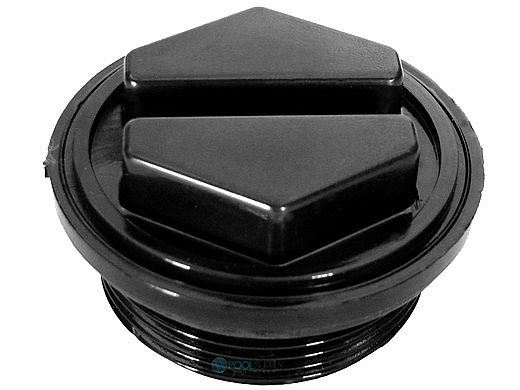 "Pentair 1.5"" Filter Drain Plug with O-Ring Black | 86202000"