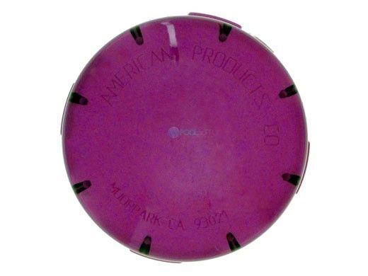 Pentair Kwik-Change Lens Cover   Purple   650016