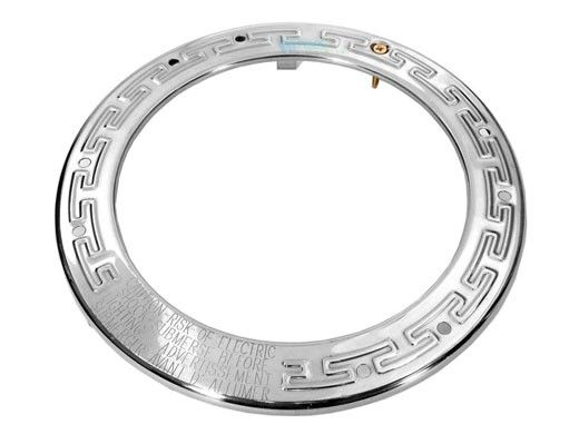 Pentair Round Face Ring Assembly   Stainless Steel   79110600