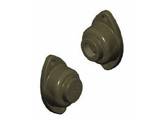 FX Luminaire | Mini J-Box for TrellisSolare® White Wrinkle Finish | MJ-TS-WF | 221354 MJ-TS-WF