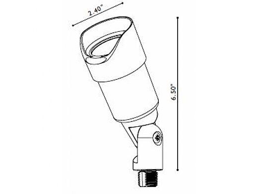 FX Luminaire | SpuntareIntimo® Bronze Metallic | Less Lamp | SI-20-GS-BZ | 220821