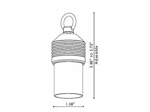 FX Luminaire | LunaSonora® 12 Watt Frosted Copper | LS-12-CU | 222820