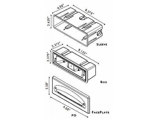 FX Luminaire | PanciaDuppio® Camo Bronze 20 Watt Wall Light | PD-20-CB | 226650