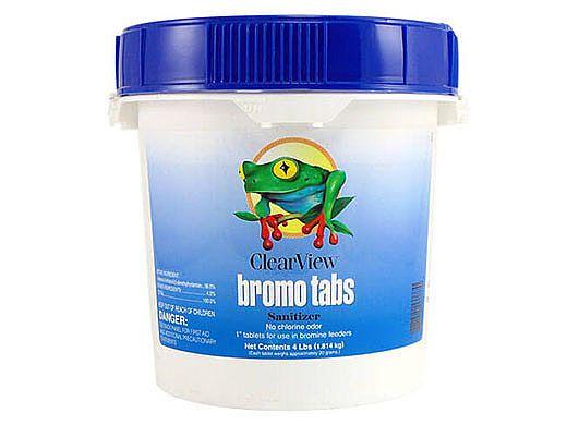 ClearView Bromine Tabs | 4 LB | CVBR004