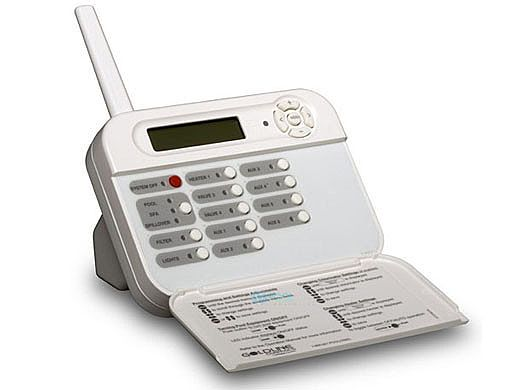 Hayward Goldline PS-8 Wireless Tabletop Remote Control | White | AQL2-TW-RF-PS-8