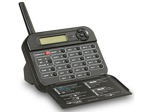 Hayward Goldline PS-16 Wireless Tabletop Remote Control   Black  AQL2-TB-RF-PS16