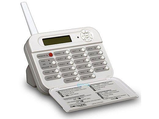 Hayward Goldline PS-16 Wireless Tabletop Remote Control | White | AQL2-TW-RF-PS16
