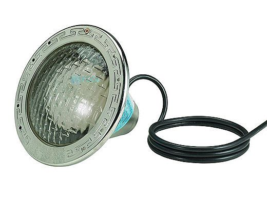 Pentair Amerlite Pool Light for Inground Pools with Stainless Steel Facering | 300W , 12V , 15' SS | 78431100