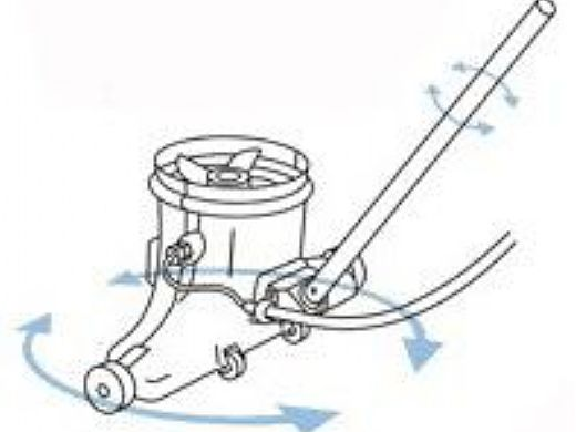 """Hammerhead Service-21 Cleaner - 21"""" - 60' Cord   SERVICE-21-60'"""