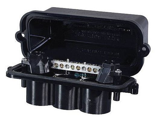Intermatic Pool Spa Weatherproof Light Junction Box   2 Lights Cap   PJB2175