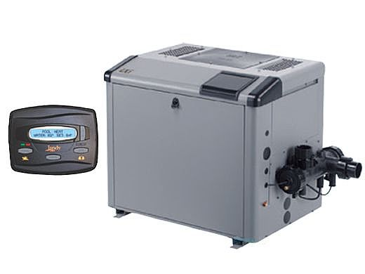 Jandy LXi Pool Heater | 250,000 BTU Natural Gas | Electronic Ignition | Digital Controls | Polymer Heads | LXi250N