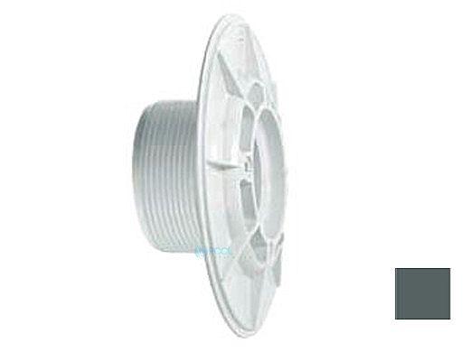 """AquaStar 6"""" Sumpless Bulkhead Fitting with 2.5"""" MPT and 2"""" Slip Socket (VGB Series)   Dark Gray   625T20S105"""