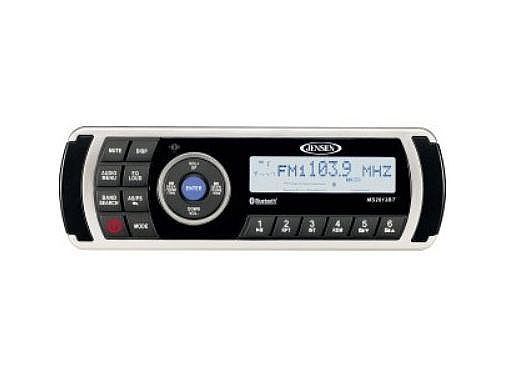 Jensen AM FM USB Waterproof Stereo with Bluetooth | 76-204-1000