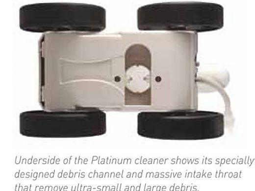 Pentair Kreepy Krauly Platinum Pool Cleaner   Booster Pump Required   All Grey Model   LL505PMG