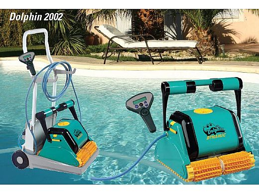 Maytronics Dolphin Dynamic Robotic Pool Cleaner Complete