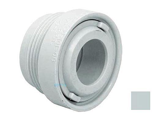 """AquaStar Choise 1.5"""" Extender with Eyeball & Nut with .75"""" Orifice   Light Gray   ASD103B"""