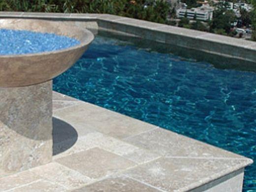 National Pool Tile Bellagio Pool Tile | Beige | BEL-6BLEND