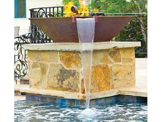National Pool Tile Tuscany 6x6 Series | Pietra Azul | HBLU