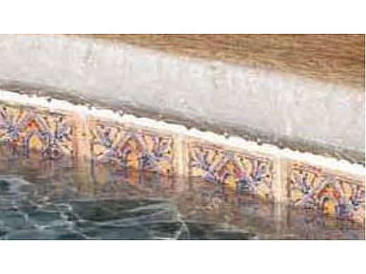 National Pool Tile Raku 6x6 Series | Ocean Blue | RUOCEAN DECO