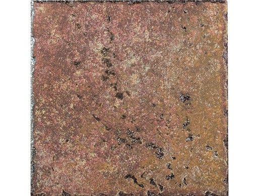 National Pool Tile Silverstone 6x6 Series | Rust | SVRRUST