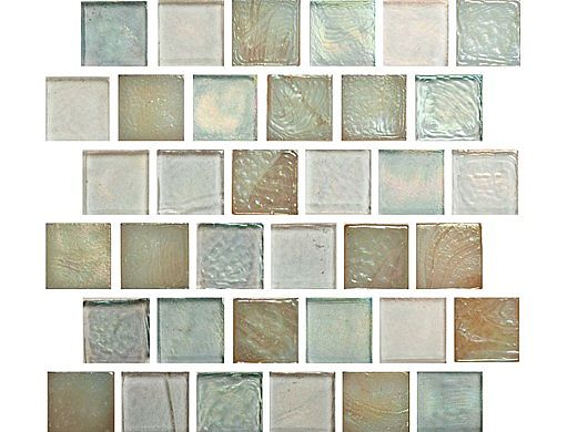 National Pool Tile Oceanscapes 1x1 Glass Tile | Rincon | OCN-RINCON