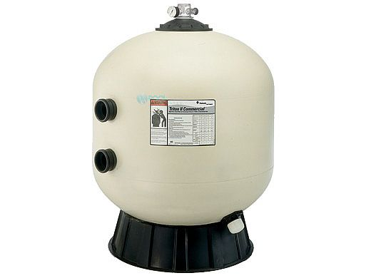 """Pentair Triton C 30"""" Fiberglass Commercial Sand Filter 