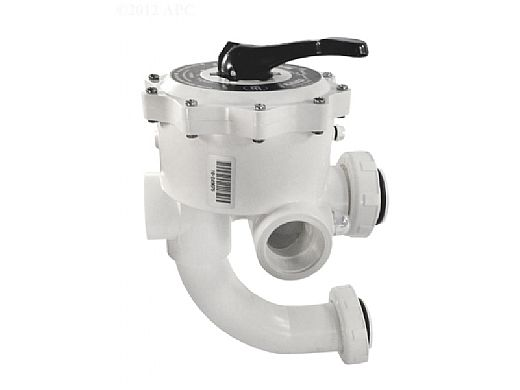 "Pentair Pre-Plumbed Multiport Valve Kit 2"" for Sand Filters and Quad DE SM2-PP3 