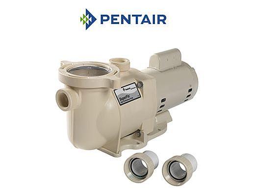 Pentair SuperFlo 1 5HP Standard Efficiency Pool Pump 115-230V | 340039